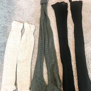 UrbanOutfitters Thigh High Sock Bundle